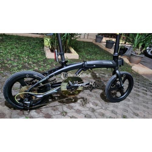 Sepeda Lipat Pacific Noris 16 Full Upgrade Normal Mulus Siap Pakai - Jakarta
