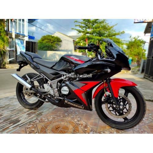 Motor Kawasaki Ninja KRR 2014 Bekas Mulus Normal Lengkap Harga Nego - Gowa