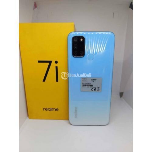 HP Realme 7i 8/128GB Bekas Fullset Original Mulus Nominus - Medan