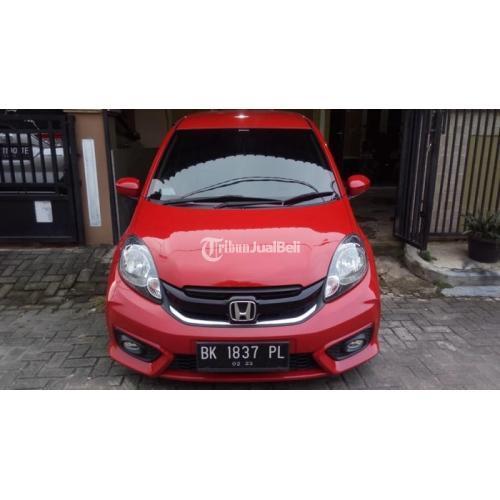 Mobil Honda Brio Satya 1.2 MT 2018 Bekas Mulus Original Surat Lengkap - Medan