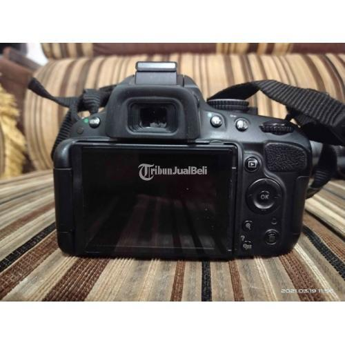Kamera DSLR Nikon D5100 Body Mulus Layar Flip Bekas Normal Mulus - Medan