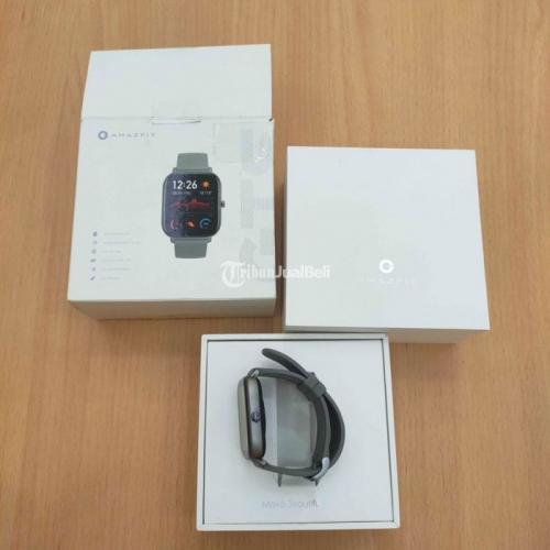 Smartwatch Amazfit GTS Amoled Second Like New Harga Murah - Pontianak