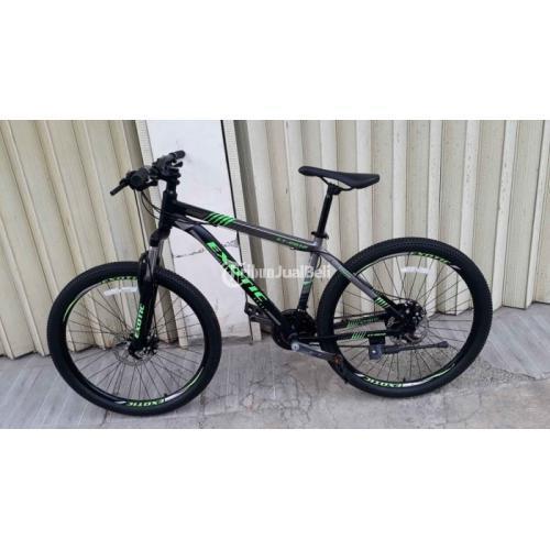 Sepeda Gunung Exotic Et-2612 Ukuran 26 Bekas Mulus Ban Super Tebal - Sukabumi
