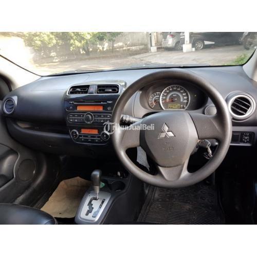 Mobil Mitsubishi Mirage GLS AT 2014 Pajak Baru Bekas Normal Bisa TT - Bekasi