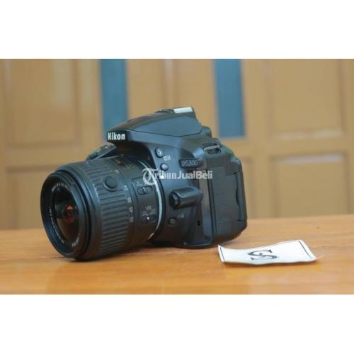 Kamera Nikon D5300 Bekas Fungsi Normal Mulus Fullset Harga Murah - Yogyakarta