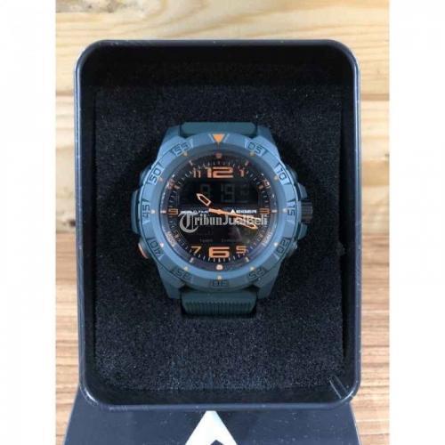 Jam Tangan Eiger Baitou Green New Waterproof Fullset Diameter 50mm - Balikpapan
