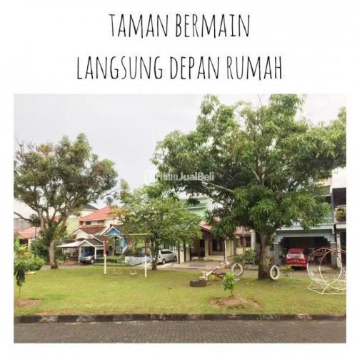 Dijual Rumah 2 Lt Full Furnished Posisi Depan Taman di Kota - Balikpapan