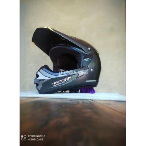 Helm Trail Cargloss Supermotocross Size L/XL Bekas Busa Tebal Bisa TT - Sleman