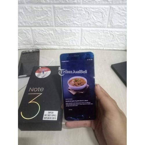 HP Xiomi Mi Note 3 Ram 6GB/128GB Fullset Bekas Mulus No Minus - Semarang