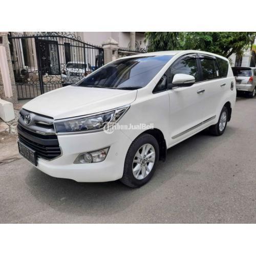 Mobil Toyota Kijang Innova Reborn V Luxury 2017 Tangan1 Pajak Panjang - Medan