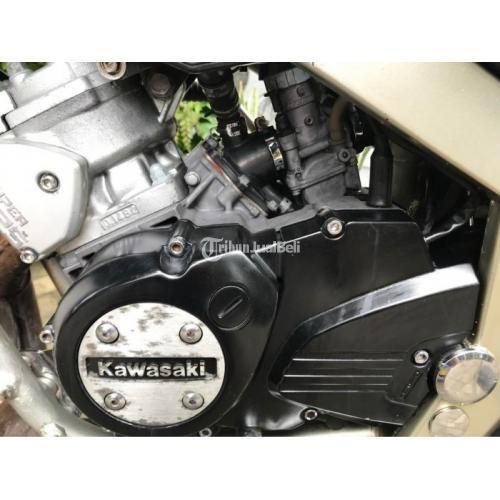 Motor Kawasaki Ninja SS 2009 Bekas Surat Lengkap Mesin Sehat - Medan