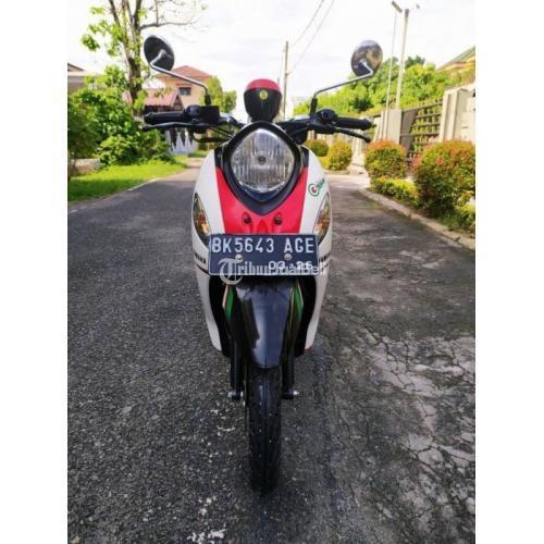 Motor Matic Yamaha Fino Tahun 2016 Bekas Terawat Normal Surat Lengkap - Medan