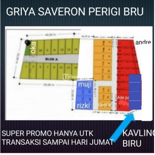 Tanah Kavling Harga Khusus Potongan Hingga 40 % di Perigi Baru - Tangerang Selatan
