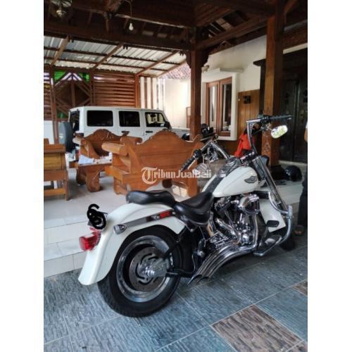 Moge Harley Davidson Softail Fatboy 2013 Aniversary Edition - Jakarta