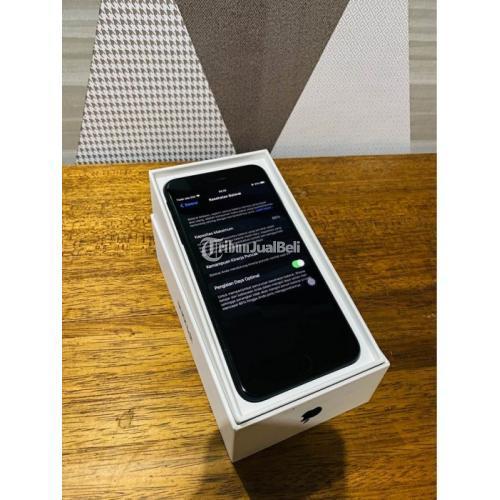 HP Apple iPhone 7 Plus 32GB Bekas Resmi iBox Mulus Standar Normal Fullset - Gresik