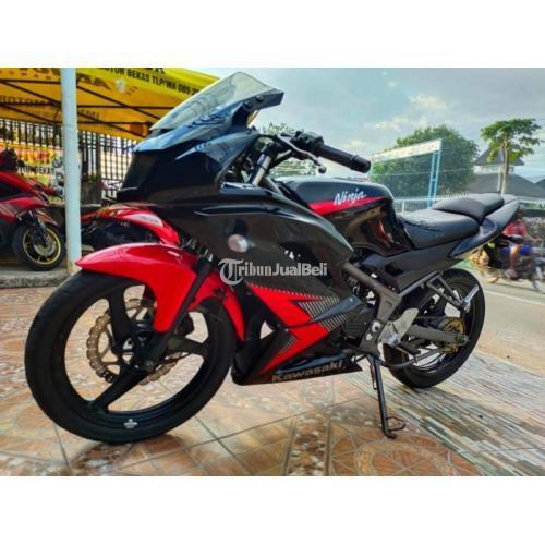 Motor Kawasaki Ninja KRR 2014 Kelistriakn Normal Bekas Bisa TT - Makassar