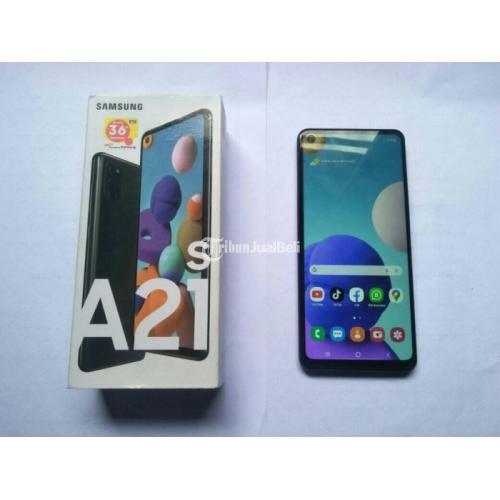 HP Samsung Galaxy A21s Ram 3GB/32GB Fullset Bekas Mulus No Minus - Makassar