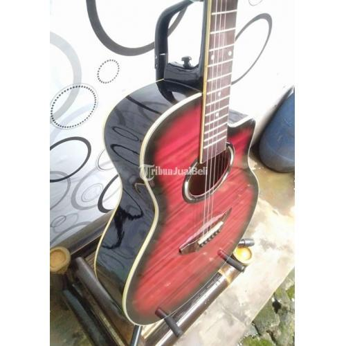 Gitar Akustik Yamaha APX500 Tanam Besi Baru Fullset Harga Murah - Bekasi