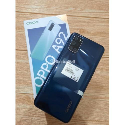 HP Oppo A92 Ram 8GB/128GG Fullset Bekas Baterai 5000mAh - Jakarta Selatan