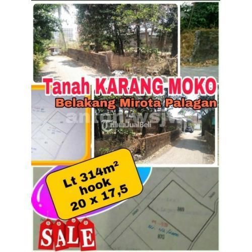 Dijual Tanah KOSONG HOOK Luas 314m² Akses Jalan Lebar  Harga Nego  - Sleman