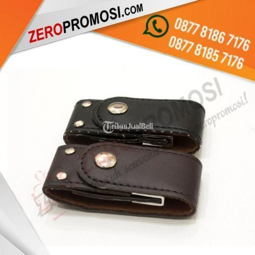 USB Flashdisk Kulit Police FDLT24 Baru Kualitas Terbaik  Hitam dan Coklat - Tangerang