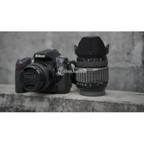 Kamera Nikon D90 Lensa Fix 50mm Bekas Fullset Normal Mulus - Sragen