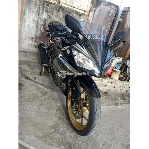 Motor Yamaha R15 v2 2014 Bekas Surat Lengkap Pajak Panjang - Denpasar