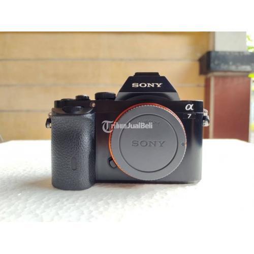 Kamera Mirrorless Sony A7 Second Normal No Kendala Lengkap - Surabaya