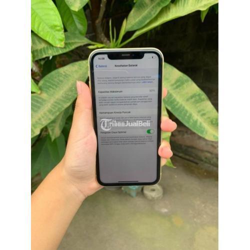 HP Apple iPhone 11 128GB Bekas Mulus Fullset Bergaransi Original - Denpasar