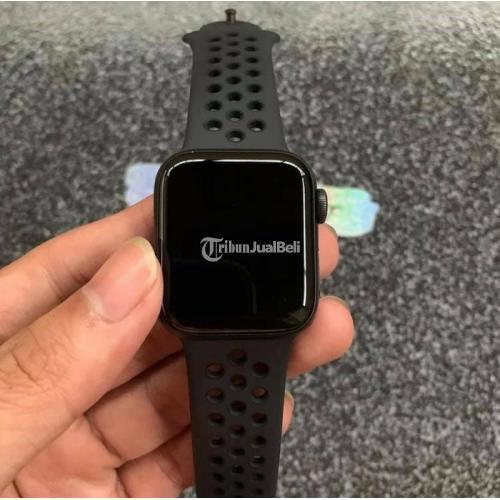 Apple watch series 5 40mm Grey Nike Ibox Bekas Fullset Original - Jakarta