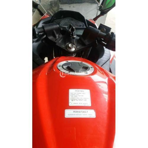 Motor Kawasaki Ninja Fi 2015 Bekas Mulus Surat Lengkap Harga Nego - Jakarta