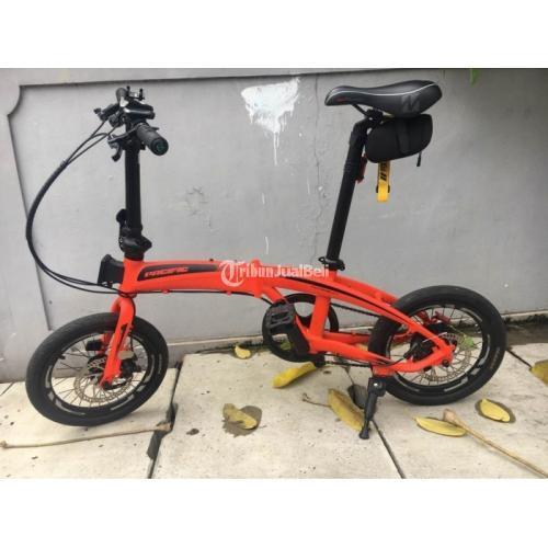 Sepeda Lipat Pasific Noris 2.1 Ukuran 12inch Bekas Normal Harga Murah - Jakarta