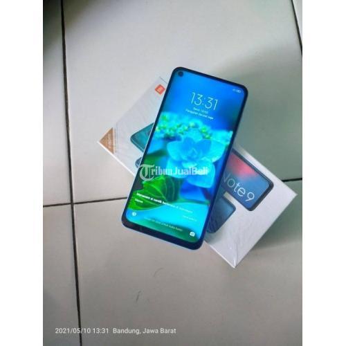 HP Xiomi Note 9 Ram 4GB/64GB Bekas Fullset Mulus No Minus - Bandung