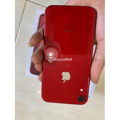 HP iPhone XR 64GB Red Bekas Fullset Kondisi Normal Garansi - Surabaya