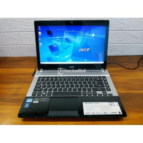 Laptop Acer V3-471G Warna Black Ram 8GB Hardisk 750GB Bekas - Solo