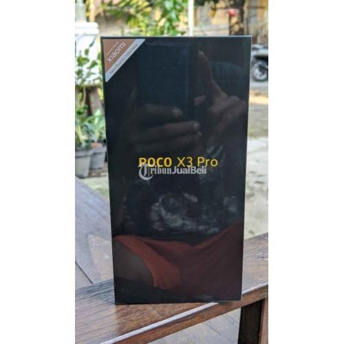 HP Poco X3 Pro Ram 6GB/128GB Fullset Bekas Mulus No Minus Banus Case  - Solo