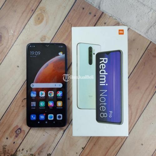 HP Xiaomi Note 8 Pro Ram 6/128GB Bekas Lengkap Mulus Original - Makassar