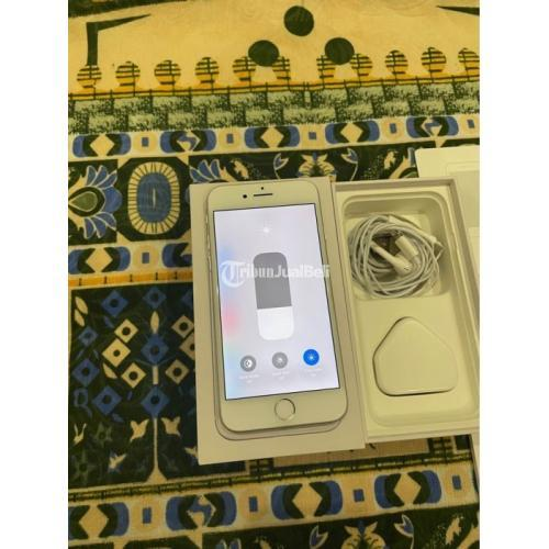 HP Apple iPhone 8 Silver 64GB Bekas inter Fullset Original Normal - Jakarta
