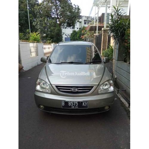 Mobil Kia Carens SE 2004 Bekas Tangan Pajak Hidup Harga Nego - Jakarta