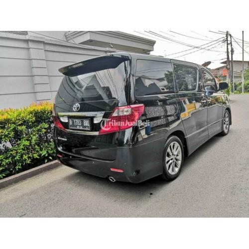 Mobil MPV Toyota Alphard S 2.4 2011 Bekas Mulus Terawat Harga Nego - Jakarta
