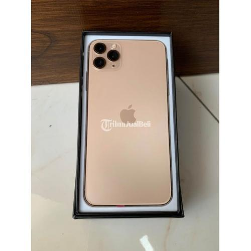 HP Apple iPhone 11 Pro Max 256GB Gold Bekas Inter Fullset Nominus - Bandung