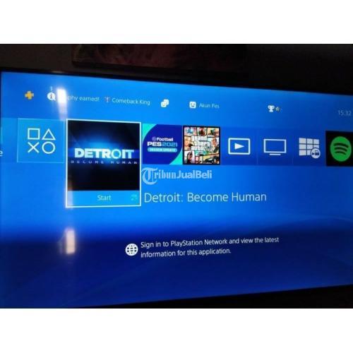 Konsol Game Sony PS4 slim 500GB Serie CUH-2106A Like New Normal Mulus - Semarang