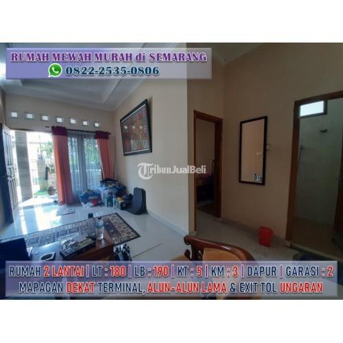 Dijual Rumah Luas 2 Lantai Dekat Terminal dan Wisata JATENG VALLEY Ungaran - Semarang