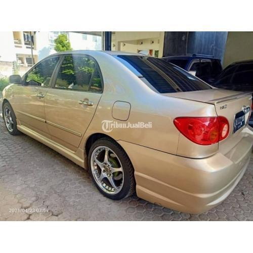 Mobil Corolla Altis 2001 Surat ngkap Mesin Halus Bekas Mulus - Semarang