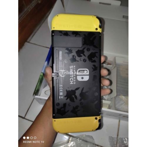 Konsol Game Nintendo Switch Pokemon Edition Bekas Fullset Normal - Semarang