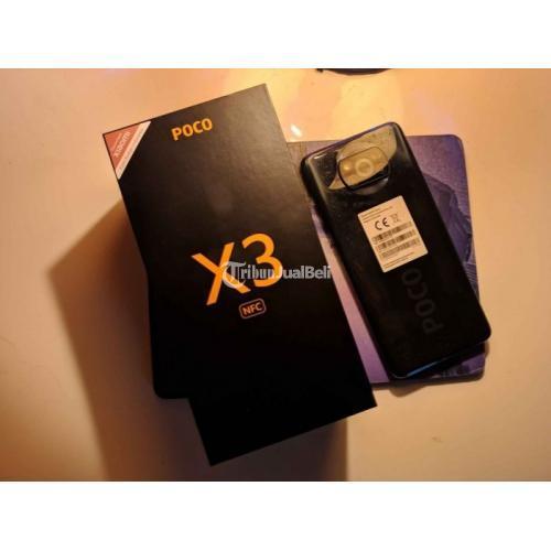 HP Poco X3 NFC 8/128 Fullset No Minus Garansi On Bekas Mulus - Sidoarjo