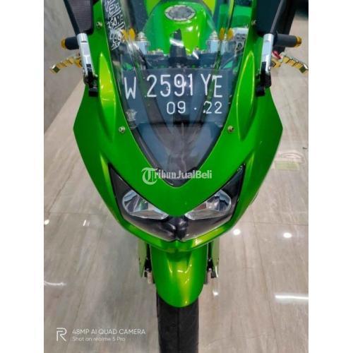 Motor Kawasaki Ninja Karbu 2012 Beka Normal Surat Lengkap Harga Nego - Surabaya