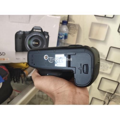 Kamera Canon 6D Body Only Fullset Bekas Kondisi Normal Bebas Jamur - Bogor