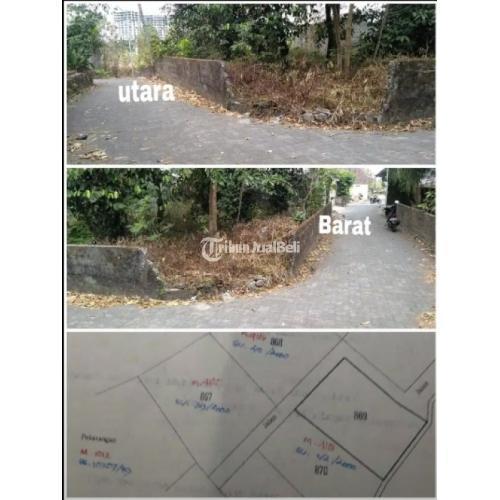 Dijual Tanah KOSONG LT 314m² (hook). Selatan D Lokasi Strategis - Sleman
