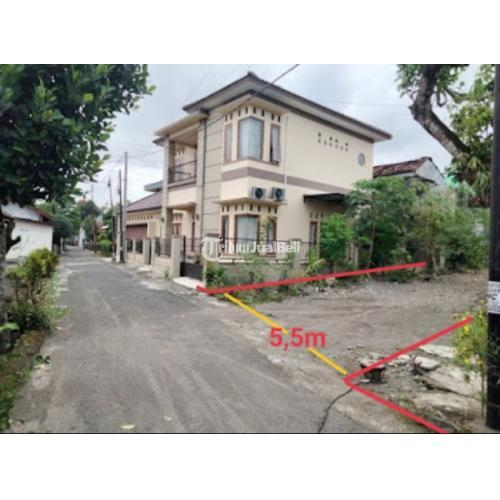 Dijual Tanah kosong NGABEAN KULON, BELAKANG PLN Jl Kaliurang Km 8.Luas 800m² - Sleman